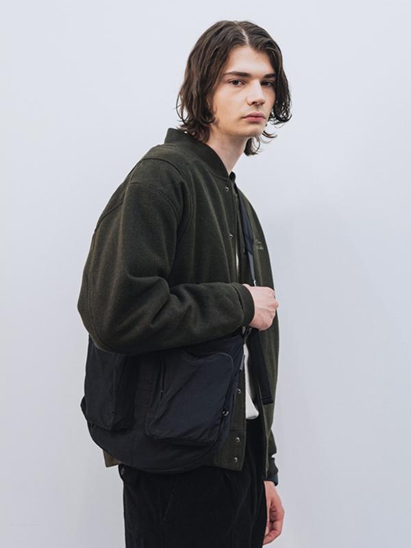 (Vladimir) Hardtack Strap Bag _ Black
