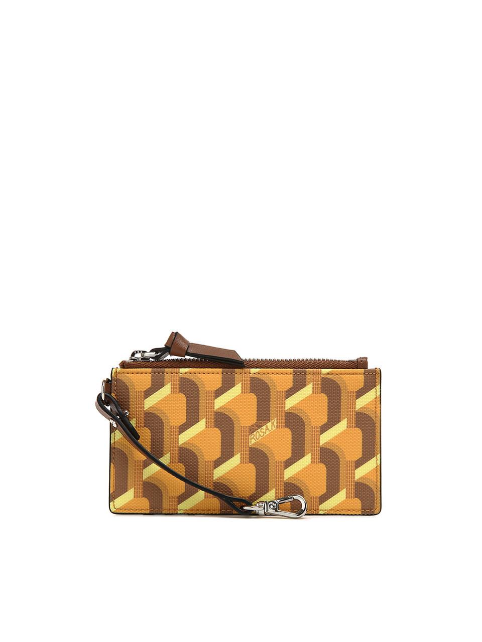 Monogram Key Wallet - Yellow