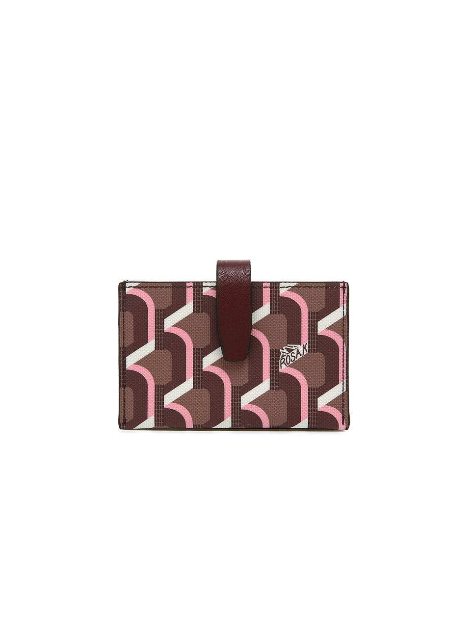 Monogram Accordion Wallet - Rose Cognac