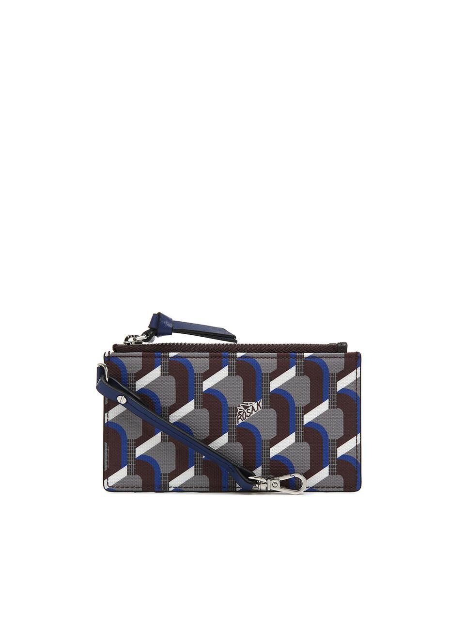 Monogram Key Wallet - Oak Blue