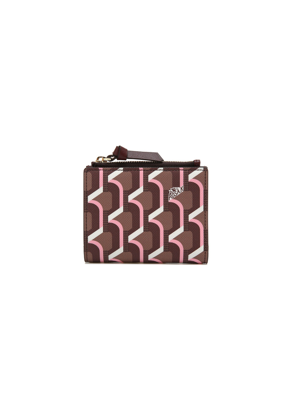 Monogram Bi-Fold Wallet - Rose Cognac
