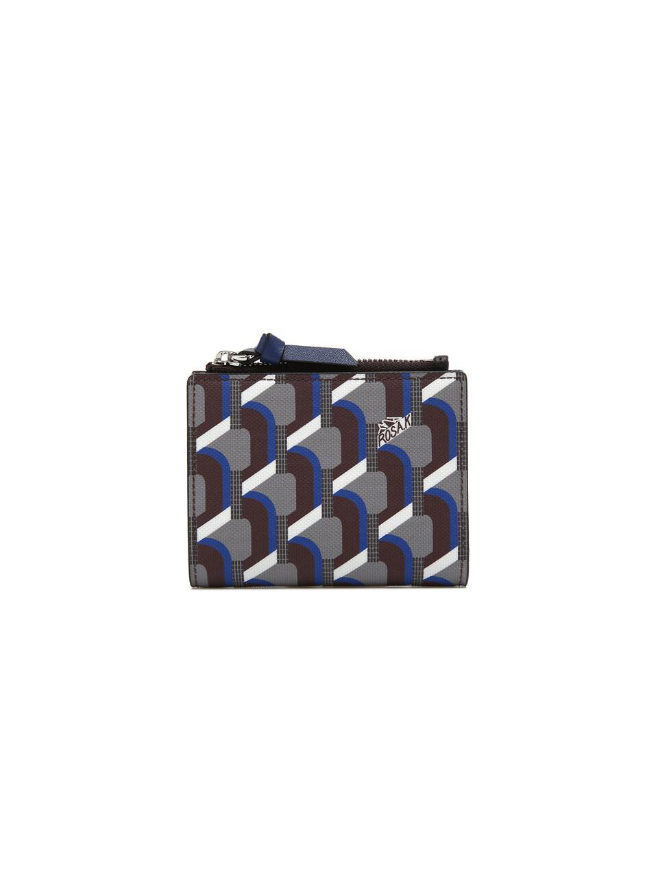 Monogram Bi-Fold Wallet - Oak Blue